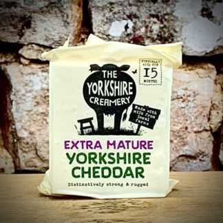 The Yorkshire Creamery - Extra Mature Cheddar Cheese