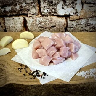 Herb Fed Poultry - Diced Chicken