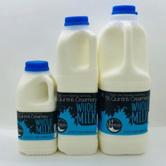 St Quintin's Creamery - Whole Milk Collection