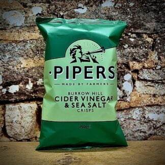 Pipers Crisps Burrow Hill Cider Vinegar & Sea Salt