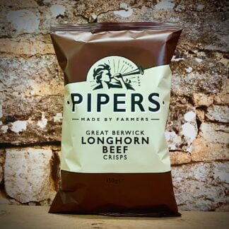 Pipers Crisps Great Berwick Longhorn Beef