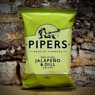 Pipers Delicias Jalapeño & Dill Crisps