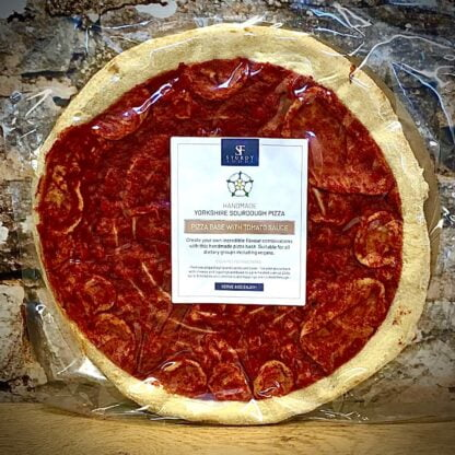 Sturdy Foods Pizza base with tomato Sauce