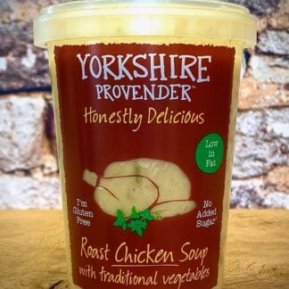 Roast Chicken with Traditional Vegetbables Soup