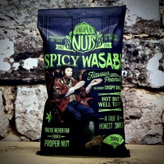 Proper Nuts Spicy Wasabi Flavour