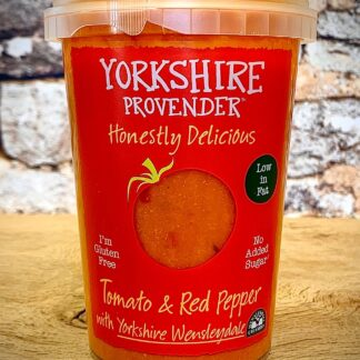 Tomato with red Pepper & Wensleydale Soup