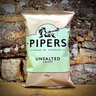 Pipers Crisps Unsalted