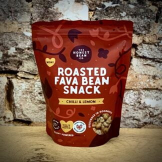 Chilli & Lemon Roasted Fava Bean Snack