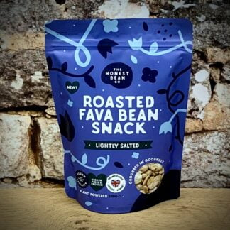 The Honest Bean Company - Slightly Salted Roasted Fava Bean Snack