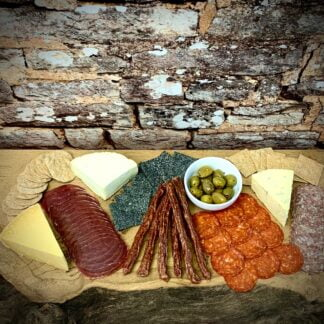 Cooks Larder Large Charcuterie Board with cheese
