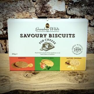 Grandma Wild's Savoury Biscuits for Cheese Selection