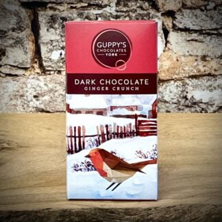 Guppy's Chococlate - Dark Chocolate with Ginger Crunch